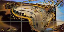 36 x 18 Art Mural Ceramic Dali Backsplash Bath Tile #32