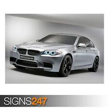 Concepto de BMW M5 (AA726) cartel de auto-foto imagen arte cartel impresión A0 a A4