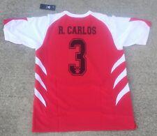 Roberto Carlos, Vintage Real Madrid JERSEY, Vintage KELME soccer jersey with #3
