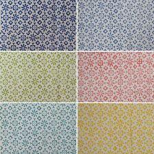 Indian Natural Printed Handmade Sanganeri Vintage Cotton Hand Block Print Fabric