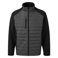 Tuff Stuff Snape Jacket Grey Ripstop Nylon & Softshell Hunting Shooting workwear