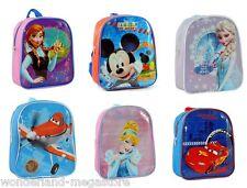 ZAINO ASILO FROZEN Elsa Anna CARS CENERENTOLA TOPOLINO PLANES zainetto Disney