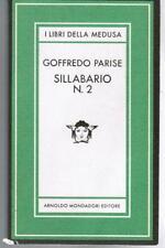PARISE, Sillabario N. 2,  Mondadori Medusa 1982 I ed.