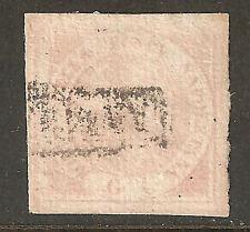 NAP01 - NAPOLI - Sassone # 1 - usato - bordo di foglio inferiore - prima scelta