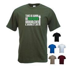 """""""questo è ciò che una fantastica birdwatcher appare come"""" piccione GUARDA DIVERTENTE t-shirt tee"""