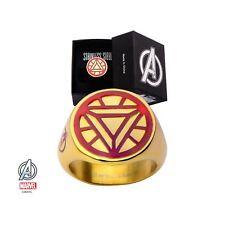 Marvel Avengers Iron Man Arc Reactor Ring