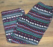 Polar Bear Christmas Jammies for Your Families FLEECE LOUNGE PANTS PJ Bottoms