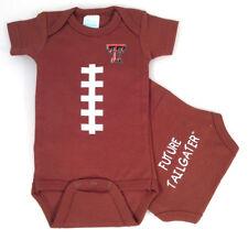 Texas Tech Red Raiders Future Tailgater Football Baby Bodysuit
