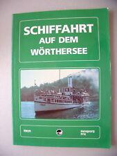 Schiffahrt auf dem Wörthersee 1988 Kärnten Österreich
