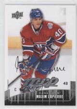 2009-10 Upper Deck MVP #143 Maxim Lapierre Montreal Canadiens Hockey Card