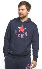 "HC CSKA Moscow ""Casual"" KHL sweatshirt hoodie with pocket, blue"