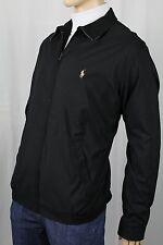Polo Ralph Lauren Black Jacket Coat Tan Pony NWT $145