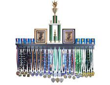 4' Medal Award Display Rack and Trophy Shelf