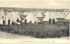 LARZAC CAMP LA CAVALERIE 14 tentes soldats