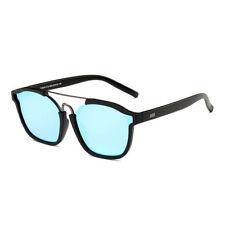 New Dasein Eyewear Shield Trendy UV400 Unisex Men Women Vintage Sunglasses