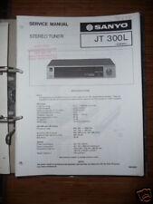 Service-Manual für Sanyo JT 300L Tuner ORIGINAL