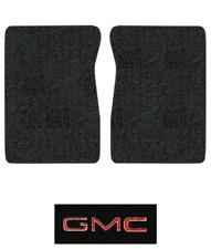 1971-1973 GMC K25/K2500 Pickup Floor Mats - 2pc - Loop | Fits: Regular Cab