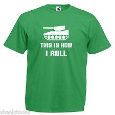 TANK ARMY divertente slogan Children's Kids T Shirt