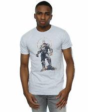 Avengers Hombre Infinity War Thanos Sketch Camiseta