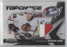 2010 Certified Top Choice Materials Prime Memorabilia 3 Patrick Kane Hockey Card
