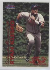 1999 Fleer Tradition Warning Track 144W Ryan Klesko Atlanta Braves Baseball Card