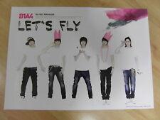 B1A4 - LET'S FLY [ORIGINAL POSTER] K-POP *NEW*
