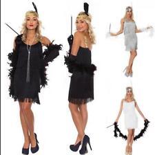 1920s Suspender Beaded Fringed Great Gatsby Dress Popular Womens Flapper Dress