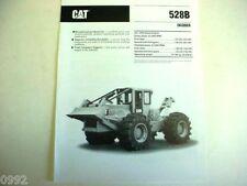 Caterpillar 528B Log Skidder Brochure