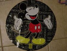"18"" Mickey Mouse Congrats Mylar Balloon Birthday Grad AS LOW AS 75¢ EACH #20"