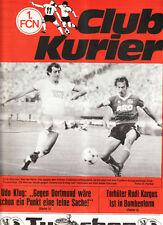 BL 82/83  1. FC Nürnberg - Borussia Dortmund