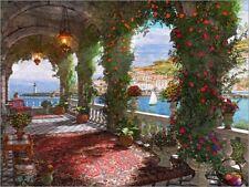 Reproduction sur toile Mediterranean Veranda - Dominic Davison