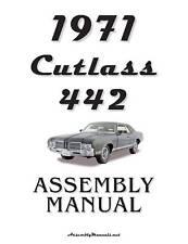 1971 Cutlass 442 Assembly Manual 71