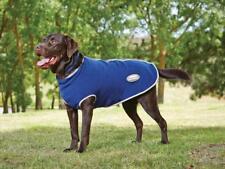 Weatherbeeta Fleece Zip Dog Coat Navy/Grey/White Breathe Easy Machine Wash