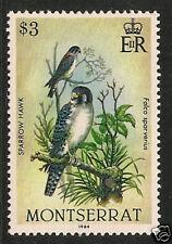 Montserrat #535 (SG #611) VF MNH - 1984 $3 Sparrow Hawks - Birds