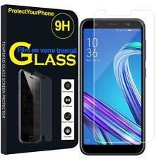 Vitre De Protection Transparent Écran Film Verre Trempe Model Asus Zenfone