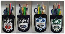 #1 set NFL Football Pencil Holder Cup Pen Holder Work Desk Kitchen Office Gift