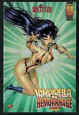 VAMPIRELLA vs HEMORRHAGE VARIANT-COVER METALLIC  # 5/'98-99 SPLITTER HARRIS