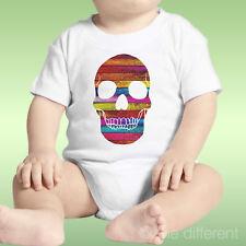 Body Recién Nacido Unisex Cráneo Madera Multicolor Madera Idea De Regalo