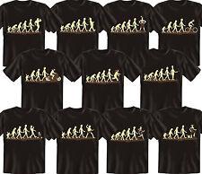 T-Shirt cooles Fun Shirt Serie Evolution Geschenk Geschenke Geburtstagsgeschenk
