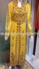 2017 BLING BRIDAL DUBAI MOROCCAN WEDDING GOWN KAFTAN DRESSES FOR WOMEN 4876
