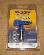 Titan Kelly Moore Airless Reversible Spray Tip 621 661-621 Carbide Plastic