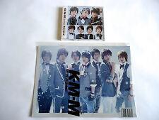 Kis-My-Ft2 We never give up JAPAN L/E New Sealed CD Single w/Magazine LAWSON HMV