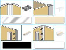Trims For Aquabord Panels, Internal, External, Edge, Base, Chrome, PVC, IPSL