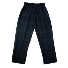 Boys Glen Appin Black Watch Scottish Tartan Trews/Trousers - Made In Scotland