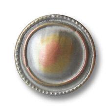 Metall  Knopf Knöpfe 10  stück   kupfer   18  mm groß   #1258#