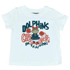 NFL Reebok Miami Dolphins Fins Cheer Power Tee Infant Girls DK3170 Tee
