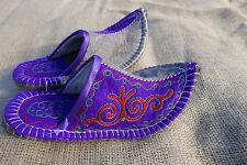 Filz Hausschuhe Handarbeit aus Kirgisien Filzpantoffeln Hüttenschuh felt shoes