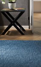 Origin Country Tweed Luxury Hand Tufted Wool Rug Denim Blue 3 Sizes 5 Colours