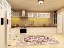 3D Fleur Rose 727 Cuisine Tapis Sol Murales Mur Imprimer mur AJ papier peint UK Kyra