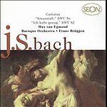 Cantatas; Bach 1998 CD, Max Van Egmond, Frans Bruggen, Baroque Orchestra, Sony E